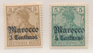 Germany, Offices In Morocco Stamp Scott #20-1, Mint Hinged - Free U.S. Shippi...