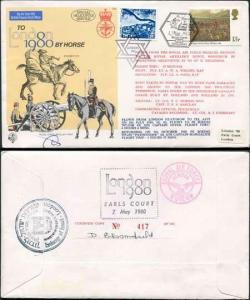 C65c To London by Horse Signed by Brigadier General Eitan Barak (G)