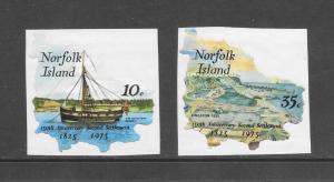 NORFOLK ISLAND - #185-6- SELF-ADHESIVE   MNH