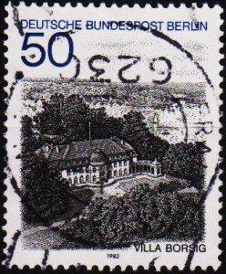 Germany(Berlin). 1982 50pf  S.G.B647 Fine Used