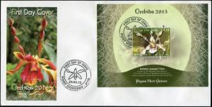Papua New Guinea. 2013. Orchids of Papua New Guinea (Mint) First Day Cover