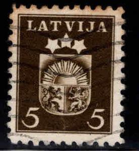 Latvia Scott 214 Used stamp