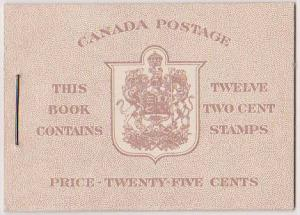 Canada USC #BK33a English - Type 1 6c Rate USC Cat. $67.50 VF-NH