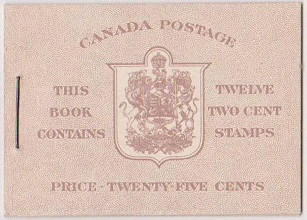 Canada USC #BK33a English - VF-NH