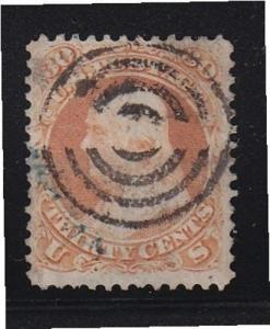 71 VF+ used neat fancy cancel nice color cv $ 200 ! see pic !