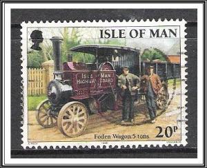 Isle of Man #628 Steam-Powered Vehicles Used
