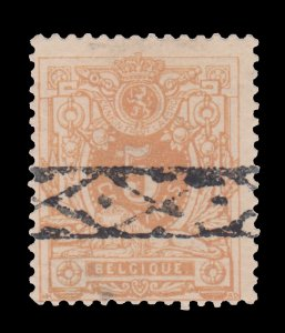 BELGIUM STAMP 1881. SCOTT # 42. USED.
