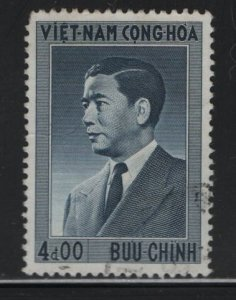 VIETNAM, 45,  USED, 1956 President Ngo Dinh Diem