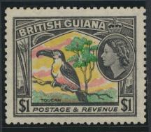 British Guiana SG 343 Mint Light Hinge  (Sc# 265 see details)