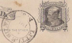 #UX5 Little Silver NJ FANCY cancel Star struck on stamp!