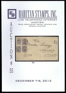 Raritan catalog: Auction #55 December 7-8, 2012