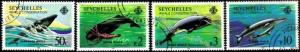 Seychelles - 1984 Whales Set Used SG 601-604