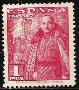 Spain 1948 Scott# 768 MNG or Used (perf)