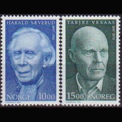 NORWAY 1997 - Scott# 1174-5 Famous Persons Set of 2 NH