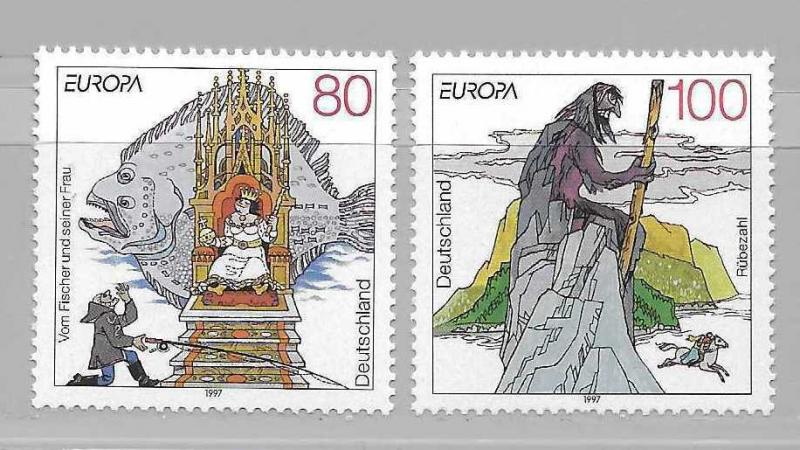 Germany 1965-66 Europa set MNH