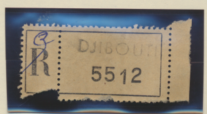 Somali Coast (Djibouti) Revenue/Tax Stamp, Used - Free U.S. Shipping, Free Wo...