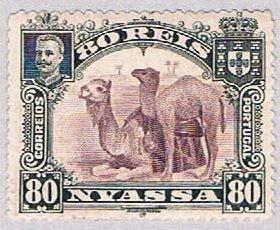 Nyassa 34 Used Camels 1901 (BP36923)