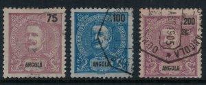 Angola #50,2,6 CV $5.00