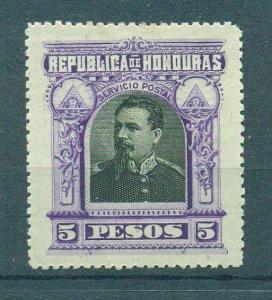 Honduras sc# 63 mh cat value $2.00