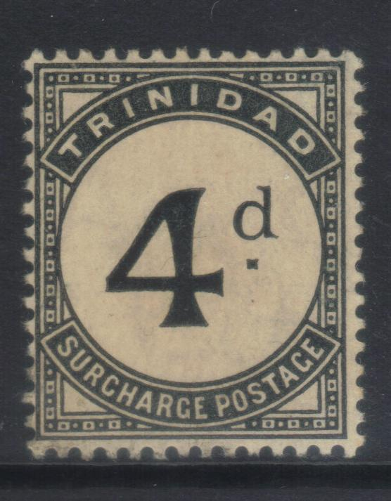 TRINIDAD 1905-1906 POSTAGE DUE SGD13 MH CAT £14