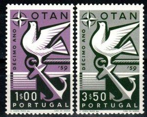 Portugal #846-7 MNH CV $3.60 (X9525)