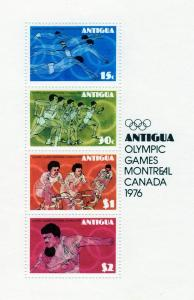 Antigua and Barbuda 1976 Olympic Games Montreal SS Cycling