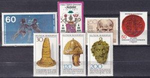 Germany #1254-60 MNH  CV $6.40 (Z7453)