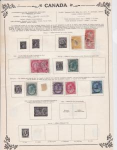 canada early  stamps ref 10934