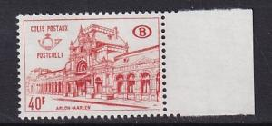 Belgium  #Q408   MNH  1968   Railway stamp Arlon station  40fr