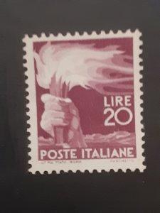 *Italy #474                  MNH