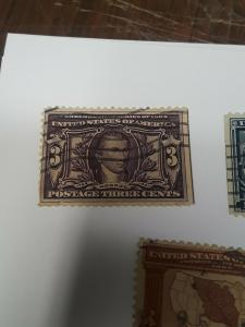 1904 VF # 325,326,327 used