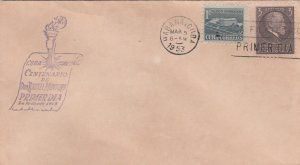1953 Cuba Stamps Rafael Montoro Centenary  FDC
