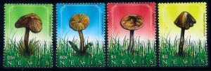 [68733] Nevis 2010 Mushrooms Pilze Champignons  MNH