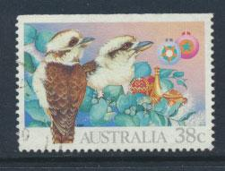 Australia SG 1272  Used  - top imperf from booklet Christmas