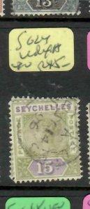 SEYCHELLES  (P2605B)  QV   15C    SG  24  INDEX A         VFU