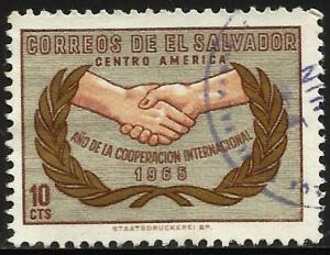 El Salvador 1965 Scott# 759 Used