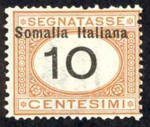 Somalia Sc# J32 MH 1926 10c Postage Due
