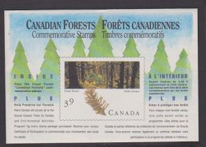 CANADA SOUV.MINIATURE PANE OF 4 STAMPS#1285a LOT#7