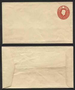 EP75 KGVI 1d Carmine Post Office Issue Envelope Size G Mint