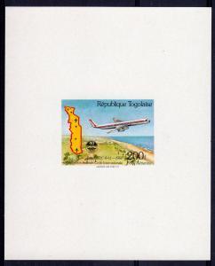 Togo 1984 Sc#1281 ICAO (UN) Aircraft DOUGLAS  DC-8-1966  DELUXE SS MNH
