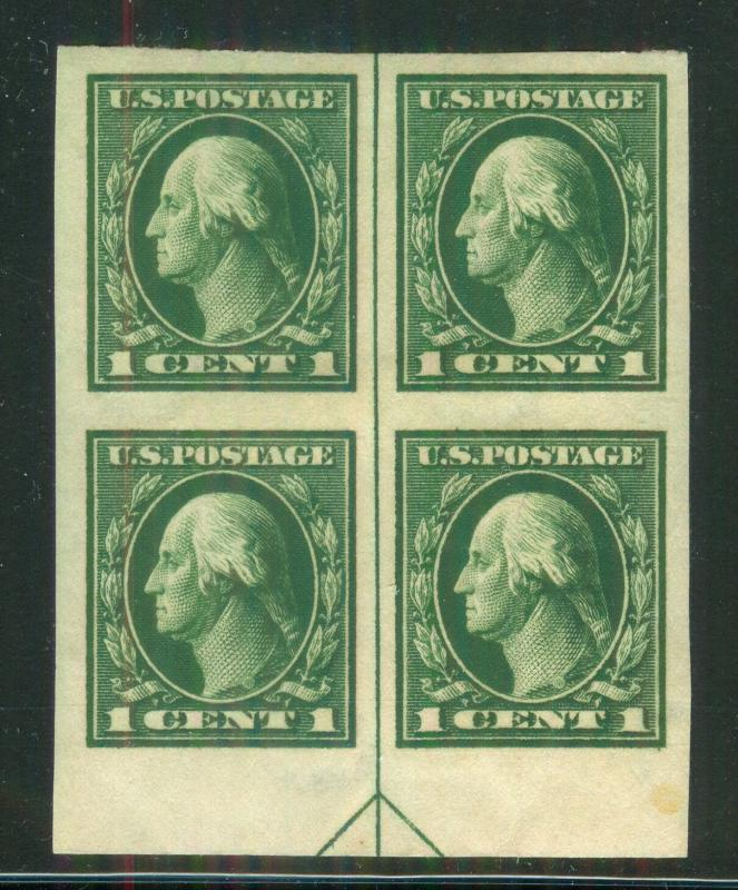 U.S. - 408 - Arrow Block of 4 - EXTRA FINE -  Hinged