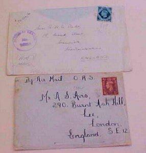 SUDAN OAS FPO 718,FPO 549 CENSORED 1943 TO FINLAND