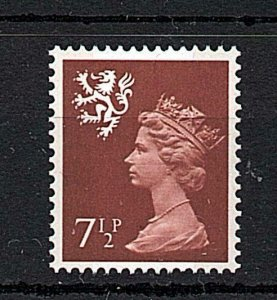 71/2p FCP/PVA SCOTLAND REGIONAL UNMOUNTED MINT Cat £65