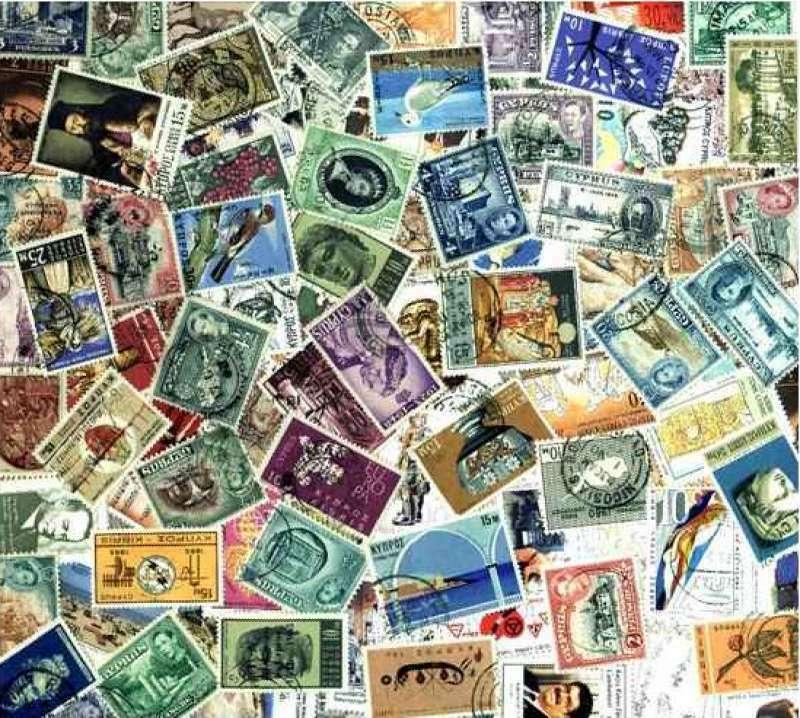 Cyprus Stamp Collection - 100 Different Stamps