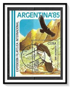 Caribbean #2799 Vultures Souvenir Sheet CTO