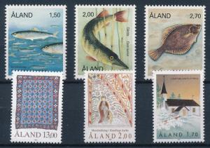 [65354] Aland Åland 1990 Year Set  MNH