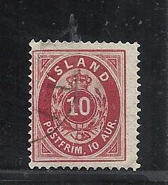 Iceland #11 used cv $8.00
