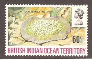 British Indian Ocean Territory 45 Mint VF NH