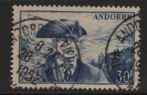 ANDORRA, 123, USED, 1939-51, PROVOST