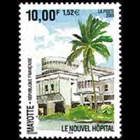 MAYOTTE 2000 - Scott# 143 New Hospital Set of 1 NH